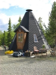 Modern tipi tent
